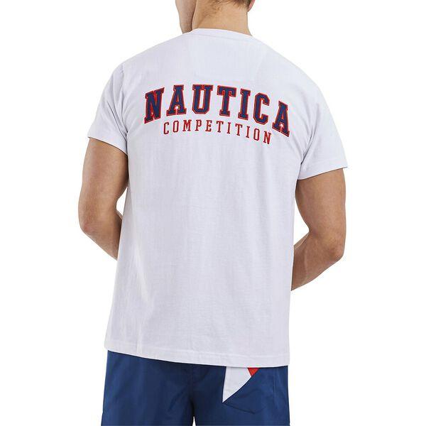 Nautica Competition Peak Tee, White, hi-res