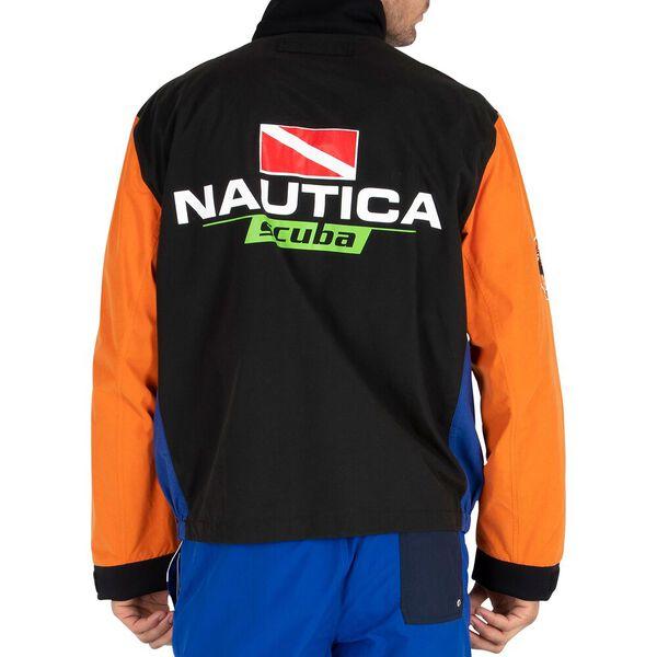 Nautica Reissue Scuba Bomber Jacket, True Black, hi-res