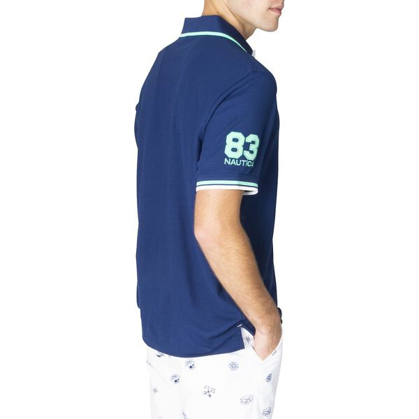 Classic Fit Sorbet Splice 83 Polo, Estate Blue, hi-res