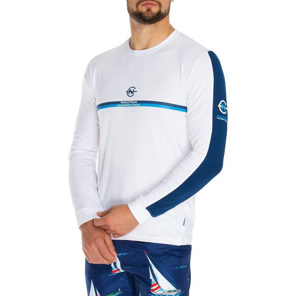 Nautica Competition Panelled Long Sleeve Tee