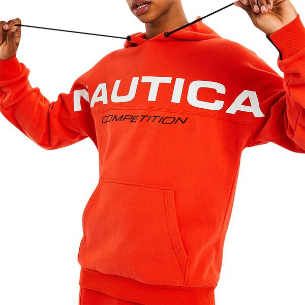 Nautica Competition Serve Hoodie, Nautica Red, hi-res