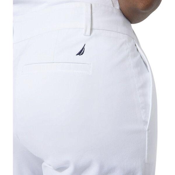 """10"""" Classic Fit Bermuda Short, Bright White, hi-res"""
