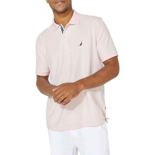 Performance Classic Fit Solid Deck Polo, Cradle Pink, hi-res