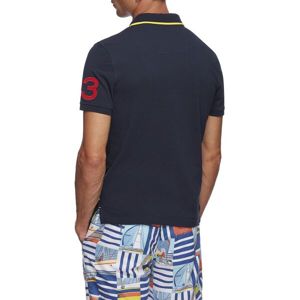 83' LOGO POLO, NAVY, hi-res