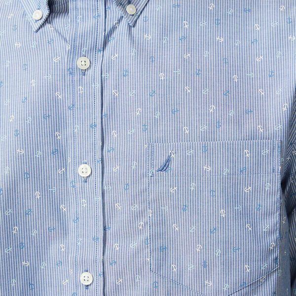 Navtech Drop The Anchor Long Sleeve Shirt, Windsurf Blue, hi-res