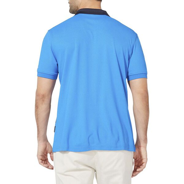 Performance NAVTECH Rugby Stripe Polo, Spinner Blue, hi-res