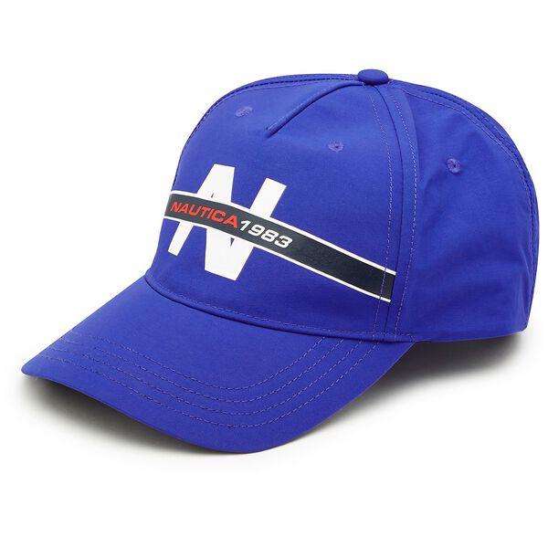 Heritage Nylon Baseball Cap, Bright Cobalt, hi-res