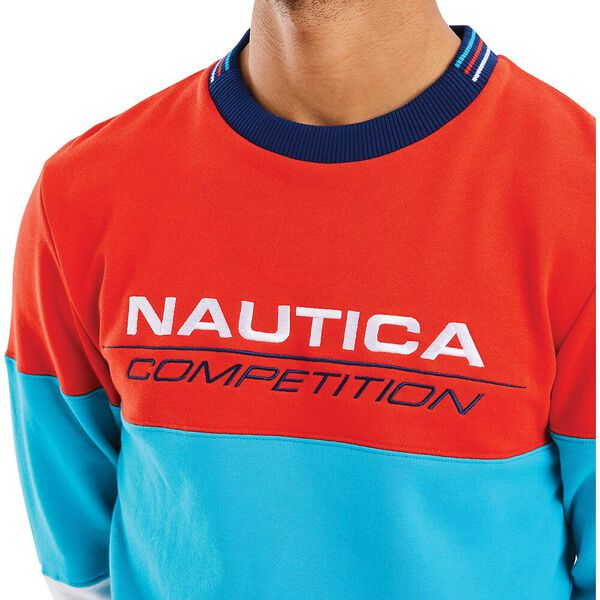Nautica Competition Bow Sweater, Red, hi-res