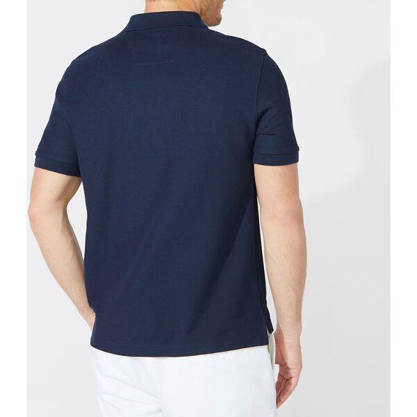 Short Sleeve Performance Deck Polo Shirt, Navy, hi-res