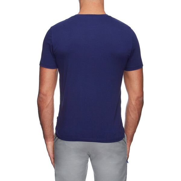 NAUTICA COMPETITION YACHT SAILING TEE, JUST NAVY, hi-res