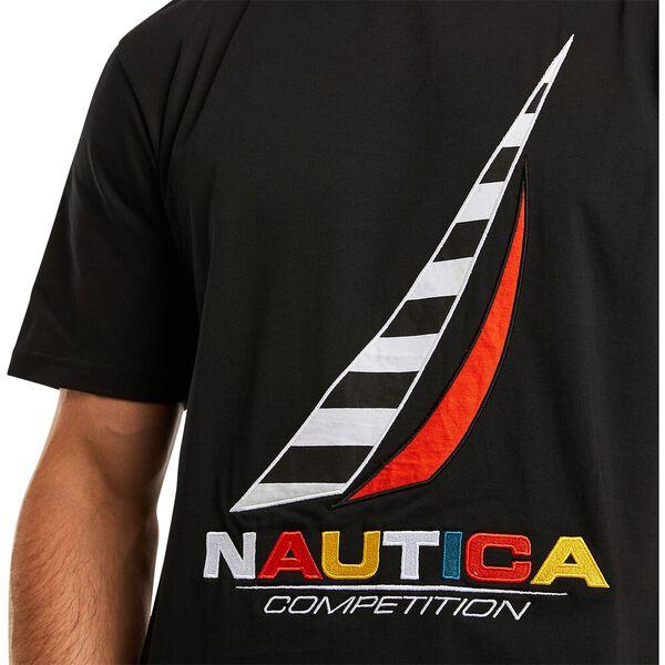 Nautica Competition Zebec Tee, True Black, hi-res