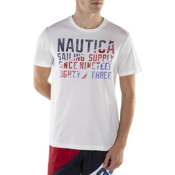 Sailing Supply Graphic Tee, Bright White, hi-res