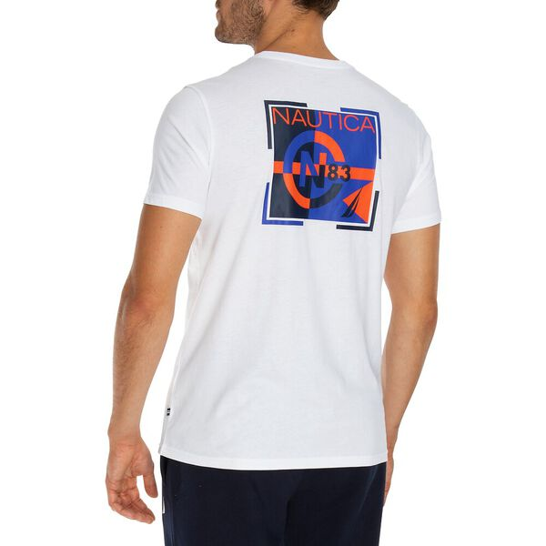 Take A Spin Short Sleeve Tee, Bright White, hi-res
