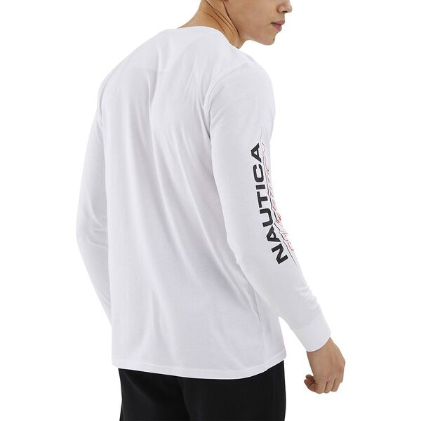 Nautica Competition Laveer Tee, White, hi-res