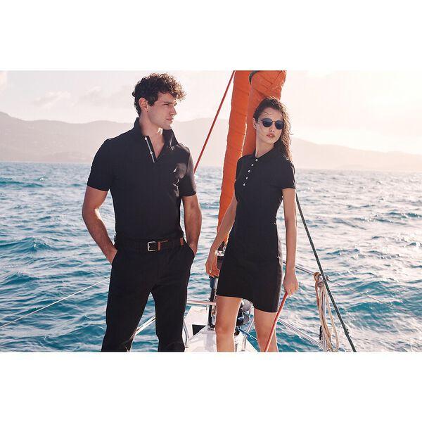 Laura Polo Dress, True Black, hi-res