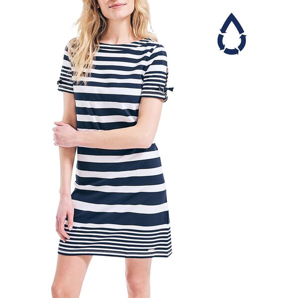 Sustainably Crafted Band Striped Dress