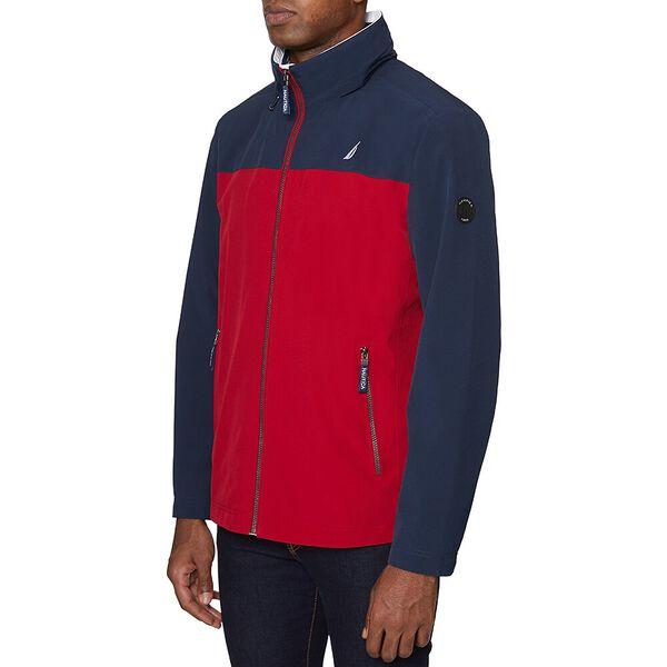 Nautica Colourblock Harrison Windbreaker Jacket, Navy, hi-res