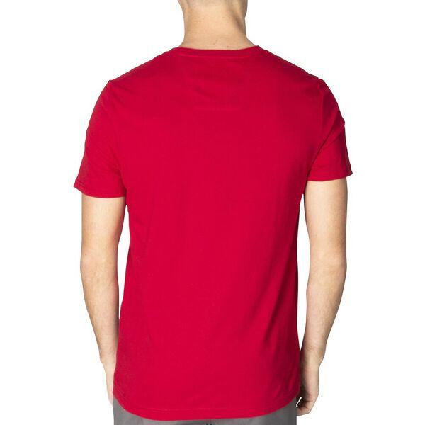 Block On Short Sleeve Tee, Nautica Red, hi-res