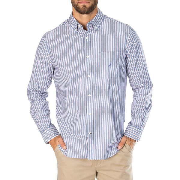 Navtech Shadow Stripe Shirt, Blue Depths, hi-res