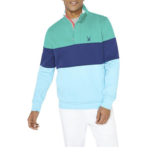 Heritage Blocked 1/4 Zip Pullover Sweater