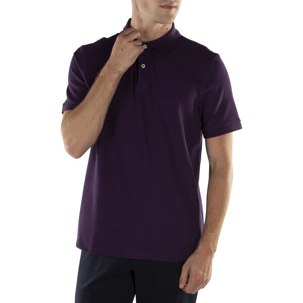 CLASSIC FIT PERFORMANCE POLO, BLACKBERRY, hi-res