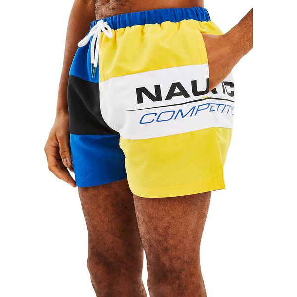 Nautica Competition Citadel Swims, Spinner Blue, hi-res
