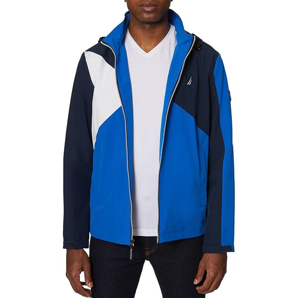 Nautica Colourblock Will Windbreaker Jacket, Spinner Blue, hi-res