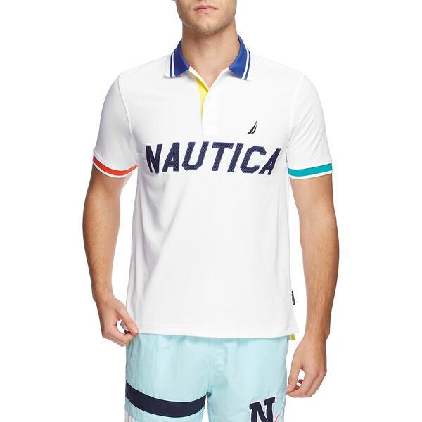 BLUE SAIL HYDRO RACE NAVTECH APPLIQUE POLO