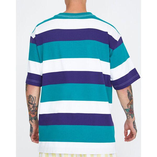 Stripe T-Shirt Teal Blue, Teal Blue, hi-res