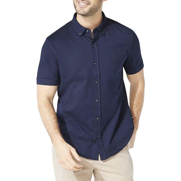 Jersey Short Sleeve Shirt, Navy, hi-res