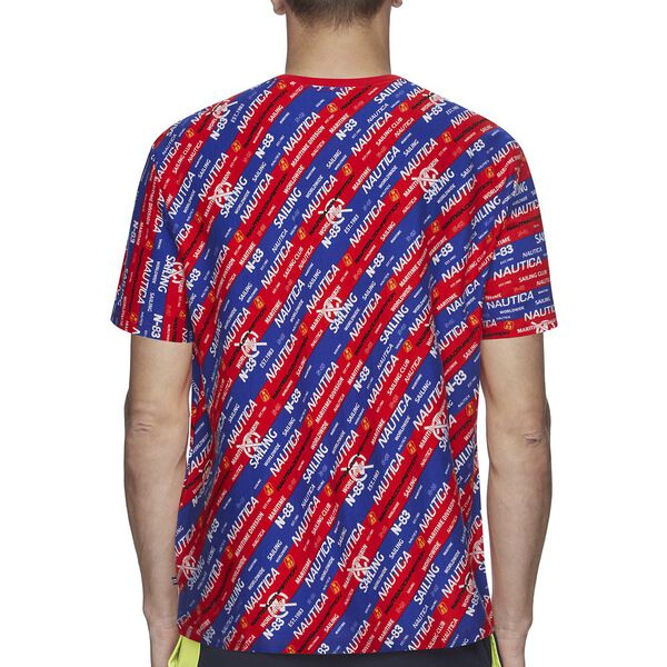 NAUTICA COMPETITION FOOTACTION ALL OVER TEE, FORMULA ONE, hi-res