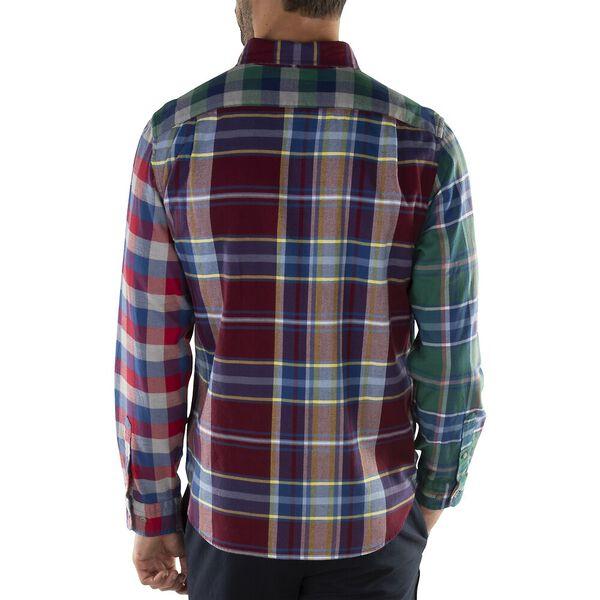 Missmatched Blue Sail Flannel Shirt, Zinfandel, hi-res