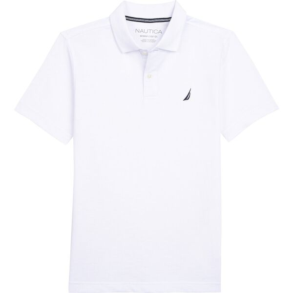 BOYS' STRETCH DECK POLO