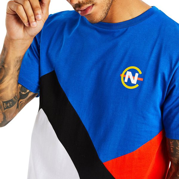NAUTICA COMPETITION LUGGER TEE, SPINNER BLUE, hi-res