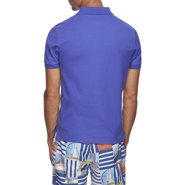 SOLID FCA SLIM FIT POLO, COBALT WAVE, hi-res