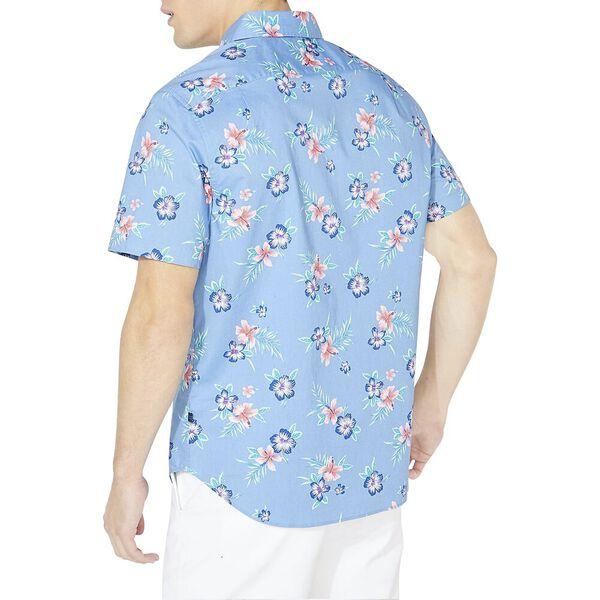 Resort Wear Classic Fit Short Sleeve Shirt, Lake Blue, hi-res