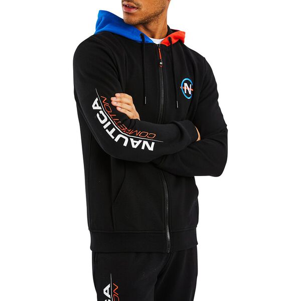 Nautica Competition Galliot Full Zip Hoody, True Black, hi-res