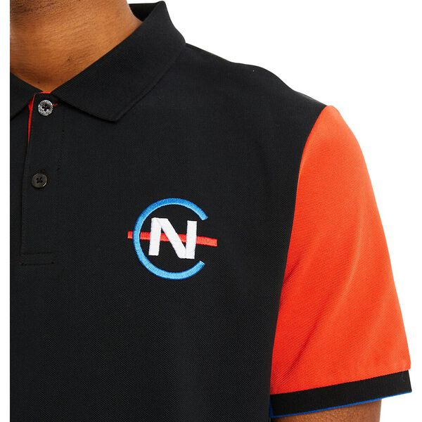 Nautica Competition Pilot Polo, True Black, hi-res