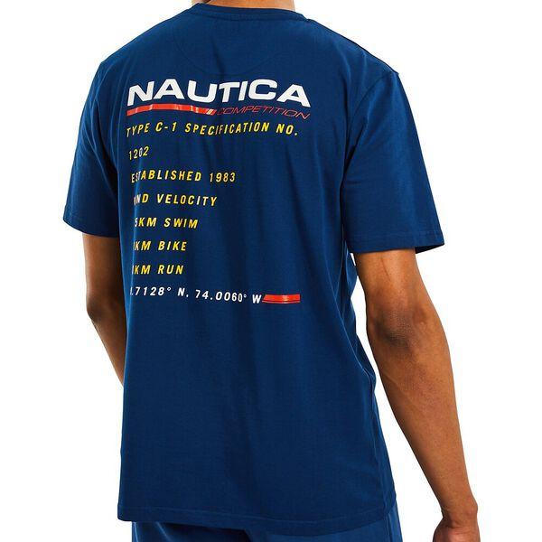 Nautica Competition Bullwark Tee, Navy, hi-res