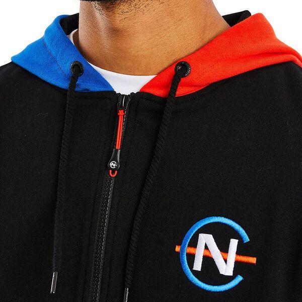 Nautica Competition Galliot Full Zip Hoody, True Black, hi-res