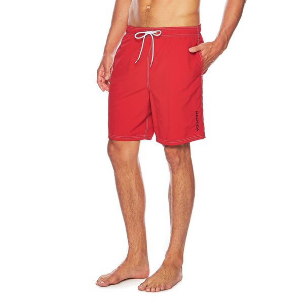 Anchor Swim Short, Racer Red, hi-res
