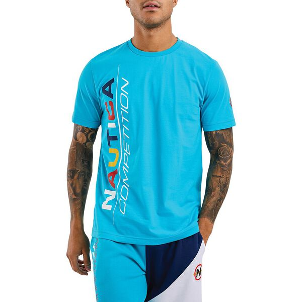Nautica Competition Parley Tee, Blue, hi-res