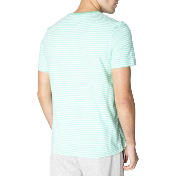 Essential Stripe Tee, Mint Spring, hi-res