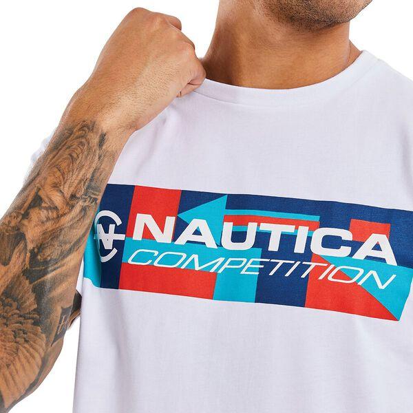Nautica Competition Luff Tee, White, hi-res