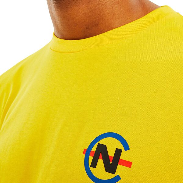 Nautica Competition Lugger Tee, Blazing Yellow, hi-res