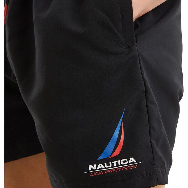 Nautica Competition Decks Swim Shorts, Black, hi-res