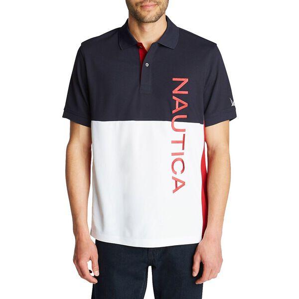 Side Panel Polo Shirt With Logo
