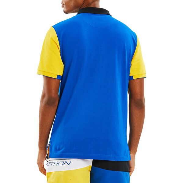 Nautica Competition Laker Polo, Spinner Blue, hi-res