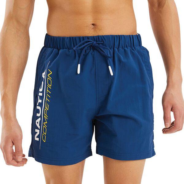Nautica Competition Patorani Swim Shorts, Navy, hi-res
