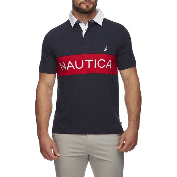 NAUTICA BRACER SHORT SLEEVE POLO